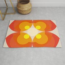 Princess Blosom  - Colorful Abstract Art Rug