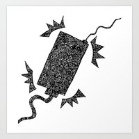 d2d - Low Power Art Print