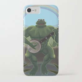 A Very Manly Muppet iPhone Case
