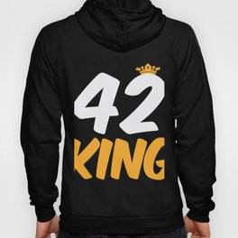 42. Birthday Present 42 Years Old Funny Gift Hoody