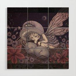 Fairy Dreaming Wood Wall Art