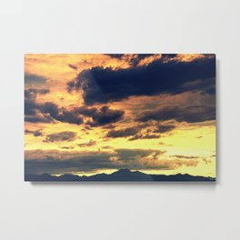 Summer Sunset II Metal Print