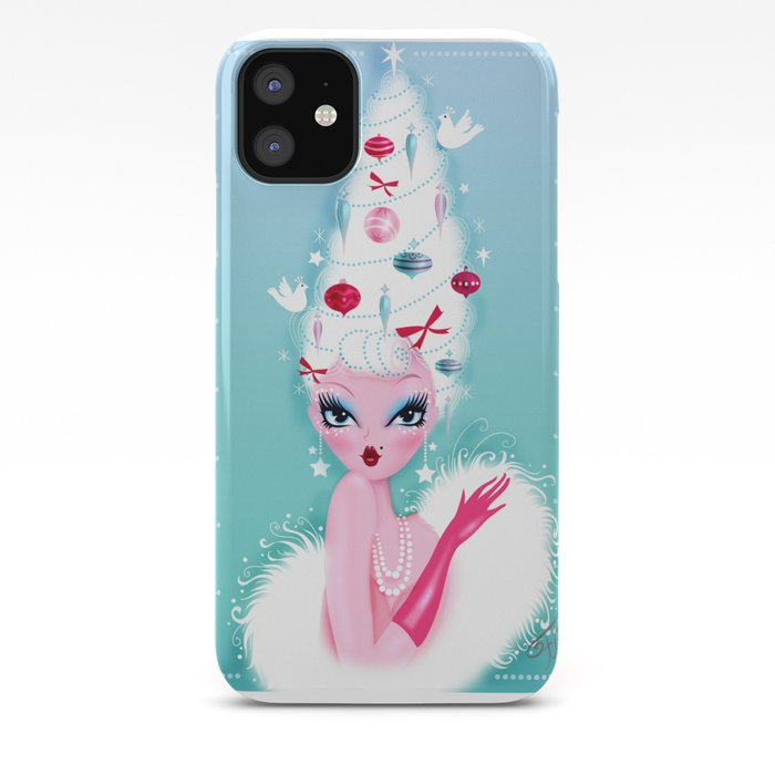 Christmas Coiffure iPhone Case