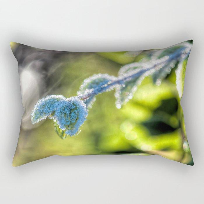 First hoar-frost Rectangular Pillow