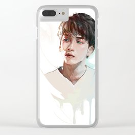 Jonghyun Clear iPhone Case