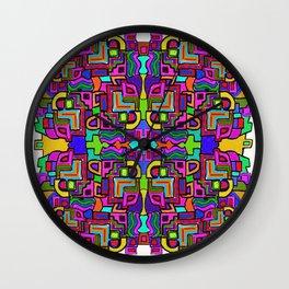 Mad Mosaic Wall Clock