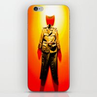military iPhone & iPod Skins featuring MILITARY DRESS by Alejandra Triana Muñoz (Alejandra Sweet