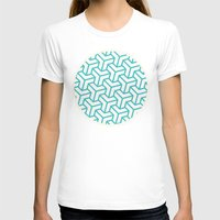diamond T-shirts featuring Diamond by Marta Li