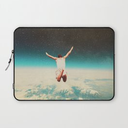 Falling with a hidden smile Laptop Sleeve