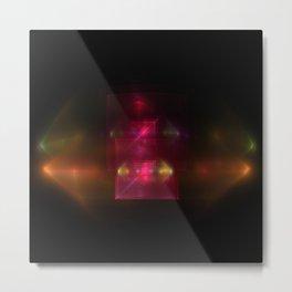 Lights in Space Metal Print