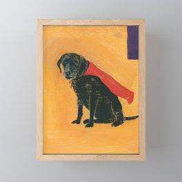 trusty sidekick - by phil art guy Framed Mini Art Print