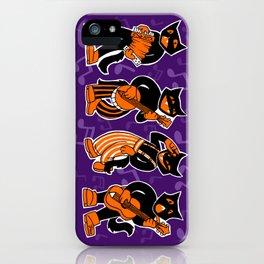 Scat Cats iPhone Case