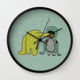 I like you so much I could eat you! Wall Clock