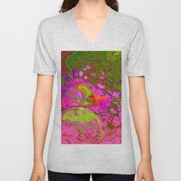 Pink Acid Unisex V-Neck