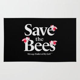 SAVE THE BEES - GOLF WANG Rug