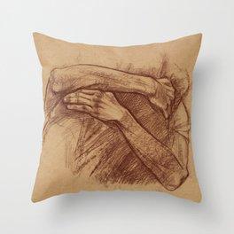 Embrace Throw Pillow