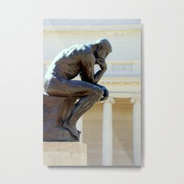 I Am, I Think... Metal Print