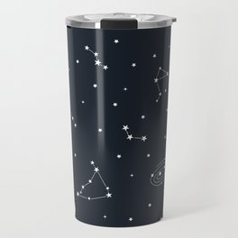 Air - Night Sky Illustration Travel Mug