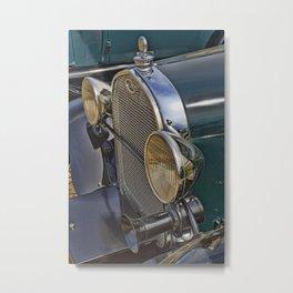 Vintage Car Obsession Metal Print