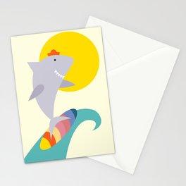 sea shark Stationery Cards
