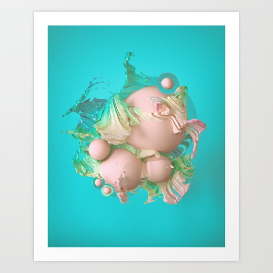 VANILLA BEAN (everyday 08.28.16) Art Print