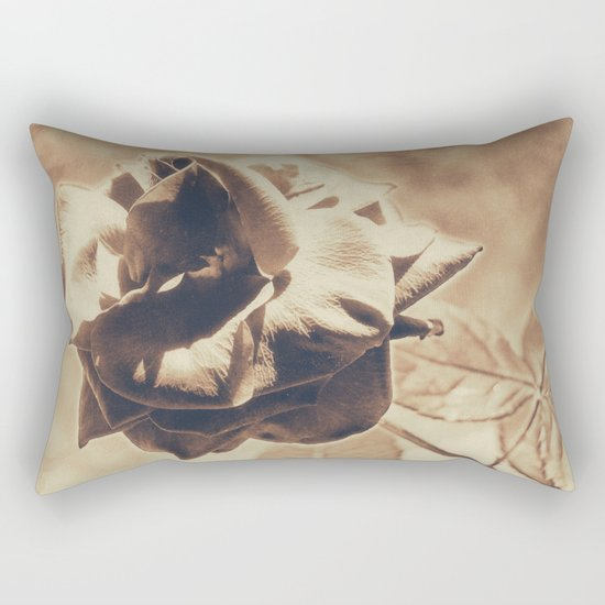 Vintage dreams, rose Rectangular Pillow