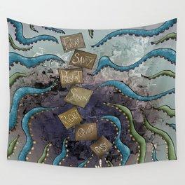 Precarious Balance Wall Tapestry