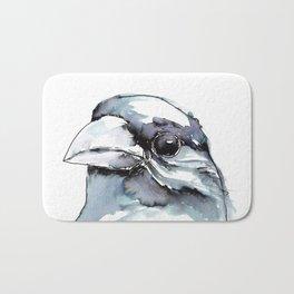 Crow Head Bath Mat