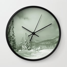 Winter day3 Wall Clock