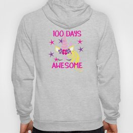 100 Days Awesome 100th Day of School Hoody