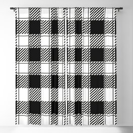 Twisted Classic Plaid Blackout Curtain
