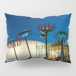 Seattle Glass Flowers Space Needle Pillow Sham