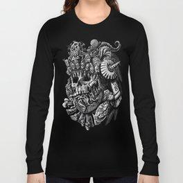 Mictlantecuhtli Long Sleeve T-shirt