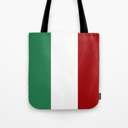 Italian Flag Tote Bag