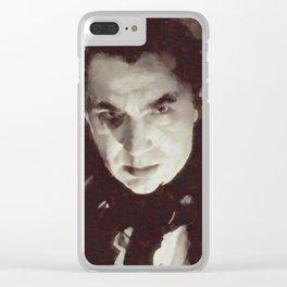 Bela Lugosi, Horror Legend Clear iPhone Case