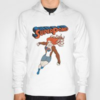 amy pond Hoodies featuring SUPER POND by sophiedoodle