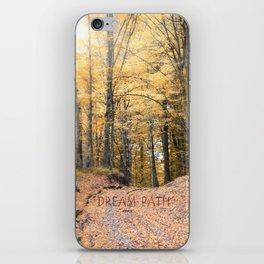 A Walk Through A Dream Forest iPhone Skin