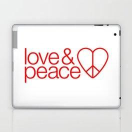 Love & peace Laptop & iPad Skin