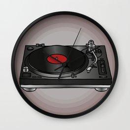 Vinyl record player Wall Clock