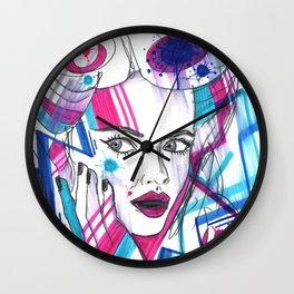 Abstract Distraction Wall Clock