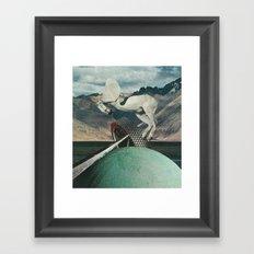 Eviscerate Framed Art Print