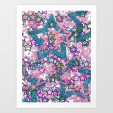 Starfall 2 Art Print