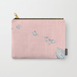 Marble Hawaii map Carry-All Pouch