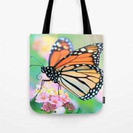 October Monarch Tote Bag