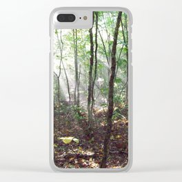 Hiking on the Dobson Trail Clear iPhone Case