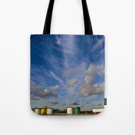 Docklands Sky Tote Bag