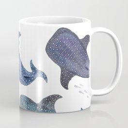 Whale Shark Pattern Party Coffee Mug