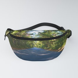 The road to Point Pelee National Park, Southern Ontario, Canada Fanny Pack