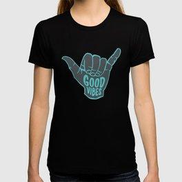 Good Vibes shaka T-shirt