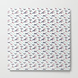 Fun Fox Tails Metal Print